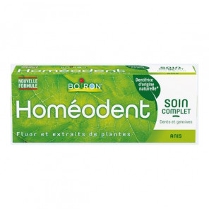 Boiron dentifrice homéodent soin complet dents et gencives anis 75ml