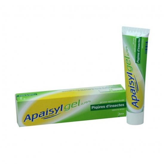 Apaisylgel 0.75 % gel pour application locale Chlorhydrate d'isothipendyl 30g